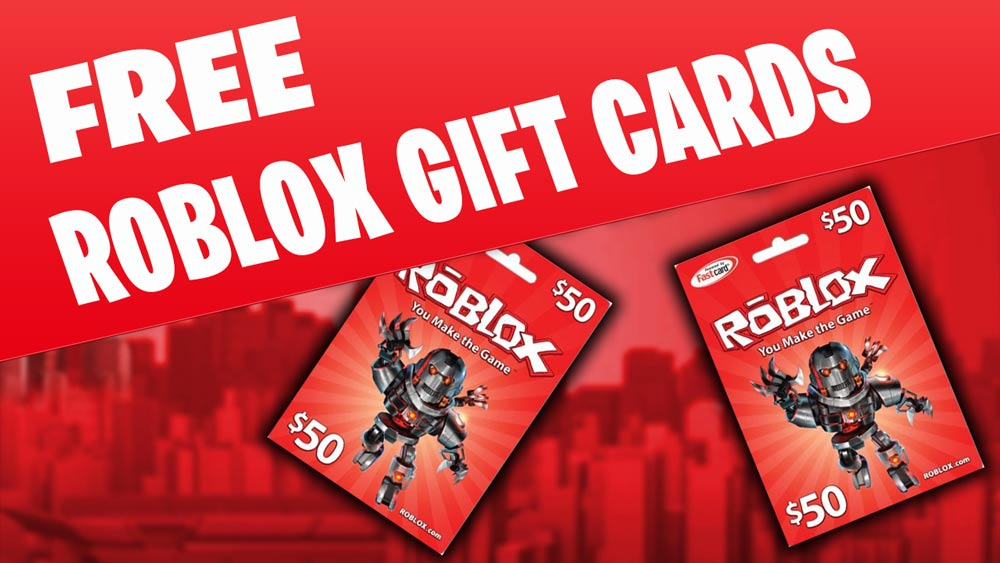 Free Roblox Gift Card Codes Generator - Gift Ideas
